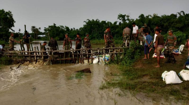 Flood-Hit Areas now Face Outbreak of Diseases in Tinsukia District