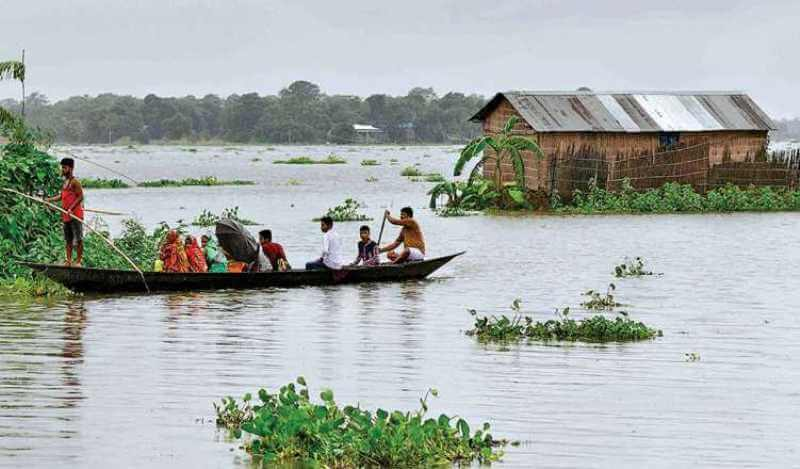 Over 1,19,179 people of 109 villages affected by floods in Golaghat district