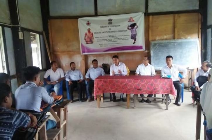 Training on Disaster Safety Techniques Underway in Hailakandi District