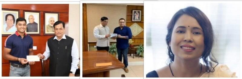 Jatin Borah, Riyan Parag Das, Rima Das and others donate for Assam flood victims