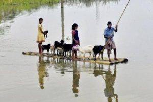 Flood affected