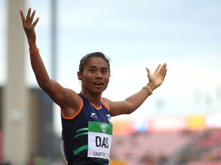 Dhing Express Hima Das creates History, clinched her 5th Gold of the month
