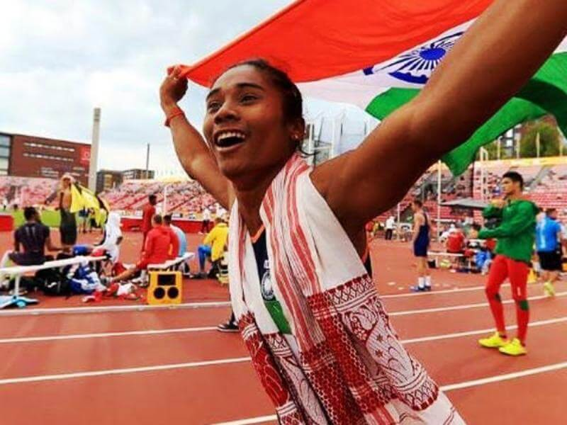 Ace athlete Hima Das donates one month's salary to COVID-19 relief fund in Assam