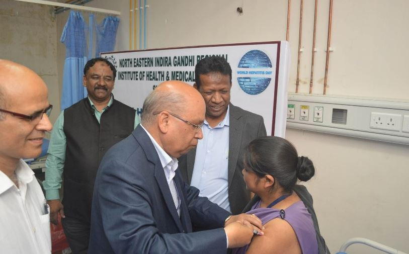 NEIGRIHMS Conducts Free Hepatitis Vaccination Drive in Shillong