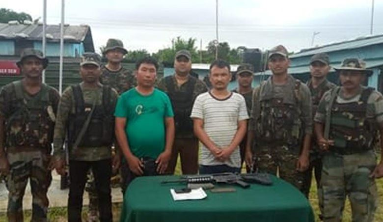 NSCN Militants Apprehended in Silchar, Sent to Police Remand