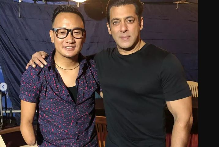 Salman Khan Croons With 'Indian Idol' Star Thupten Tsering