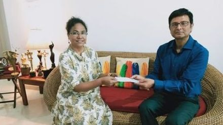 Renowned Actress Seema Biswas from Assam donates Rs 5 lakh for Assam Flood Relief