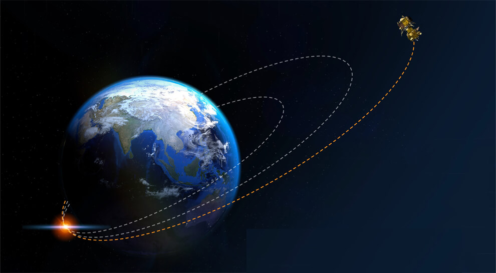 ISRO to inject Chandrayaan-2 into lunar orbit on Tuesday between 8.30 am and 9.30 am