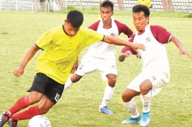 Full Points for Navajyoti Club in GSA Super Division Football League