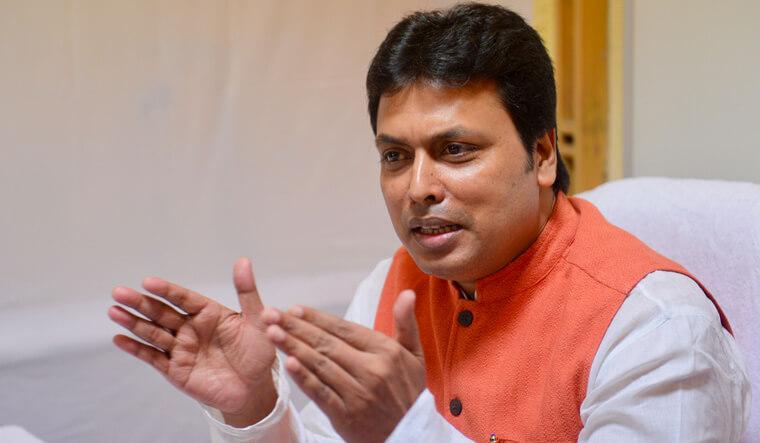 CM Biplab Kumar Deb Backs Shah's 'One Nation, One Language' Call