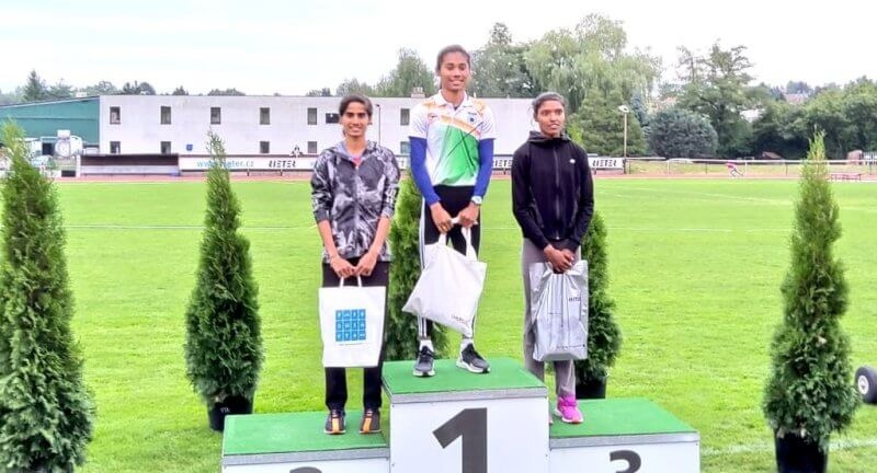 Hima Das bags sixth Gold in Women's 300 at Athleticky Mitink Reiter 2019, Czech Republic