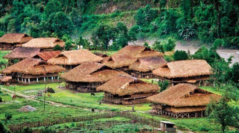 Arunachal Team to Repair Galo House in Indira Gandhi Rashtriya Manav Sanghalaya (IGRMS)