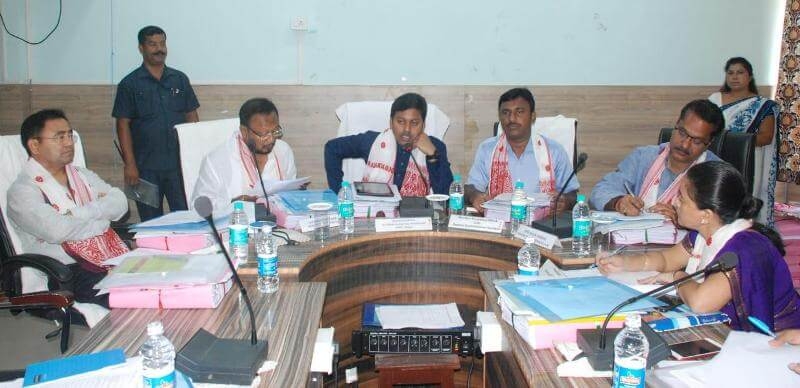 Implementation of centrally-sponsored schemes in Sonitpur reviewed by Pallab Lochan Das