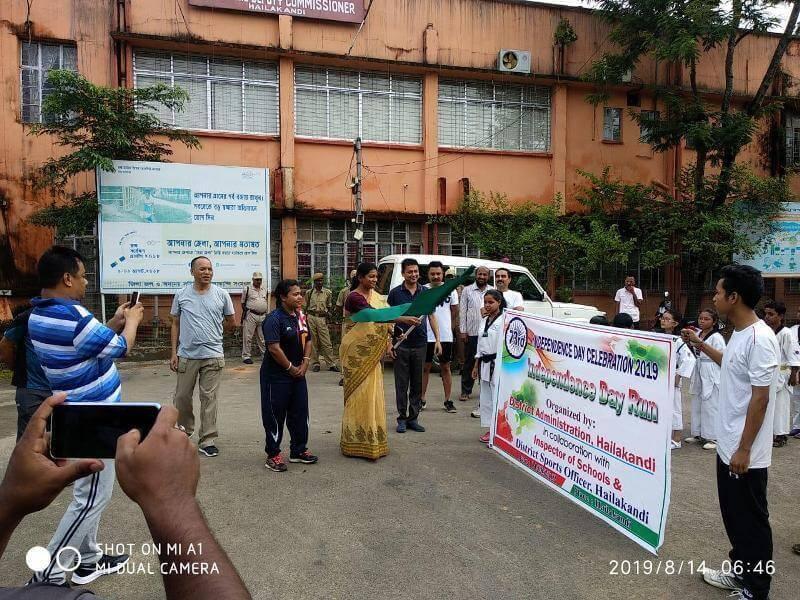 Independence Day Run Organized in Hailakandi