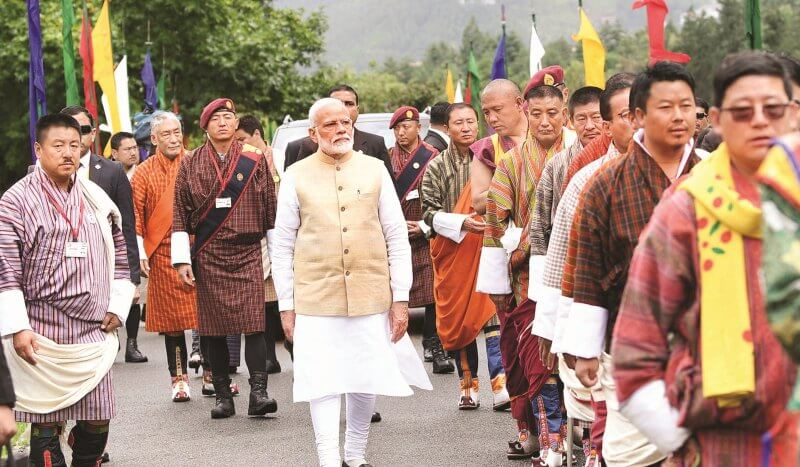 Prime Minister Narendra Modi Seeks Bhutan's Cooperation In New Sectors