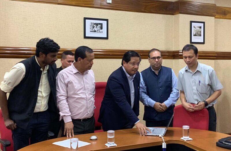 Meghalaya CM Conrad K Sangma Launched e-champion Challenge Website