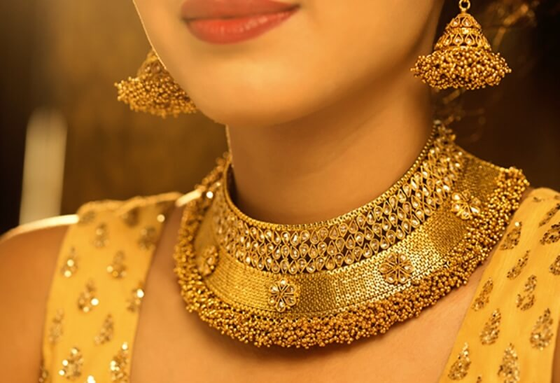 Designed by me as per my choice-Customised Gold jewellery