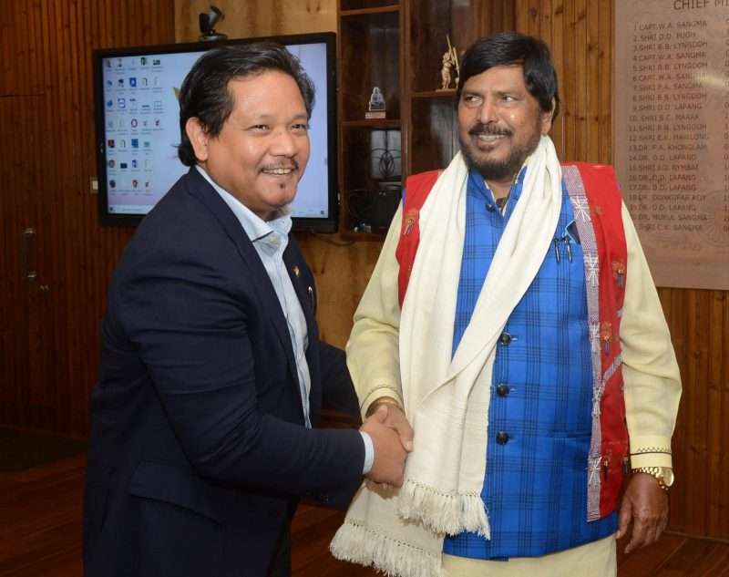 'Incubation Centre' At NEHU Unveiled By Ramdas Athawale
