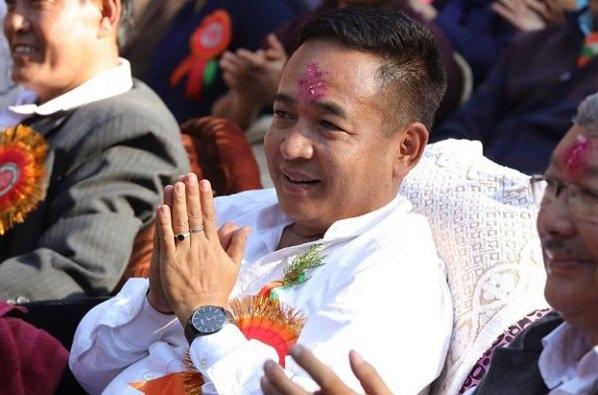 Sikkim Chief Minister Prem Singh Tamang gives visit to Assam Meghalaya