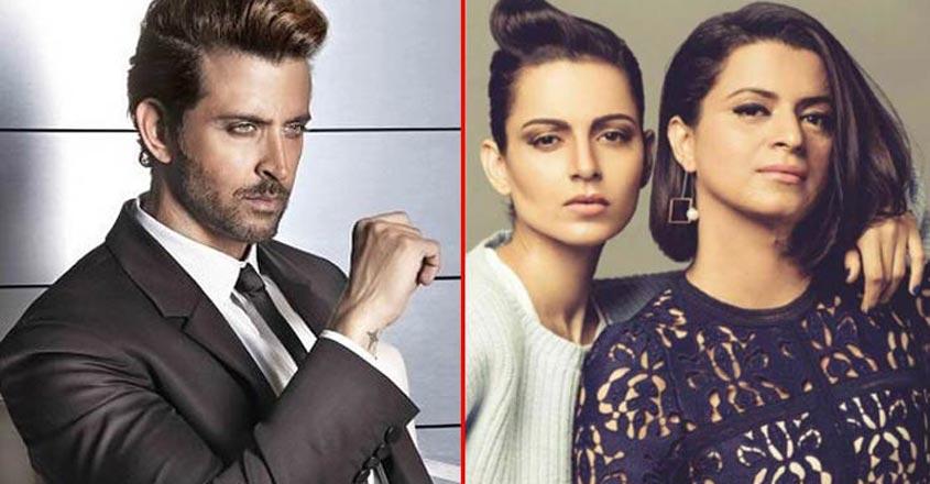 Rangoli Chandel Mocks Hrithik Roshan's Look And Acting