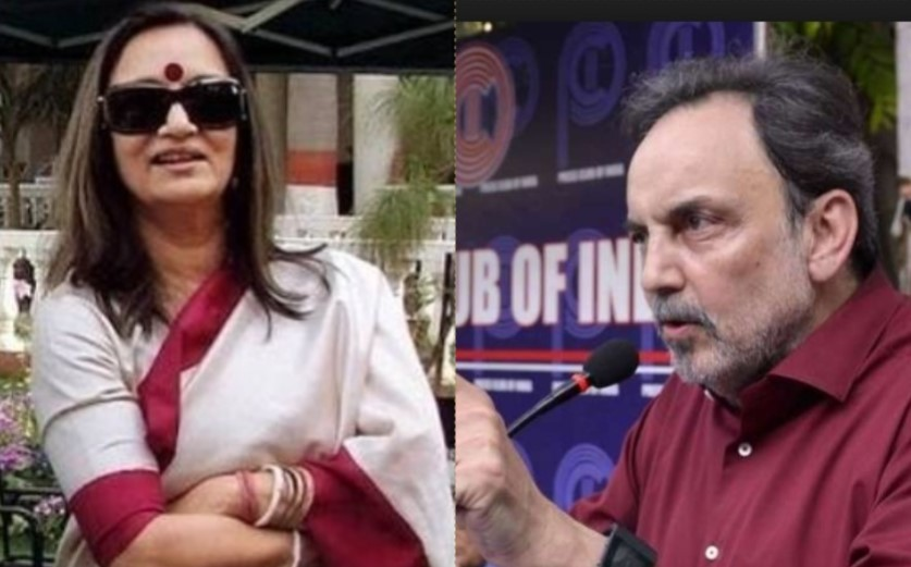 NDTV's Founders Prannoy Roy & Radhika Roy detained at Mumbai