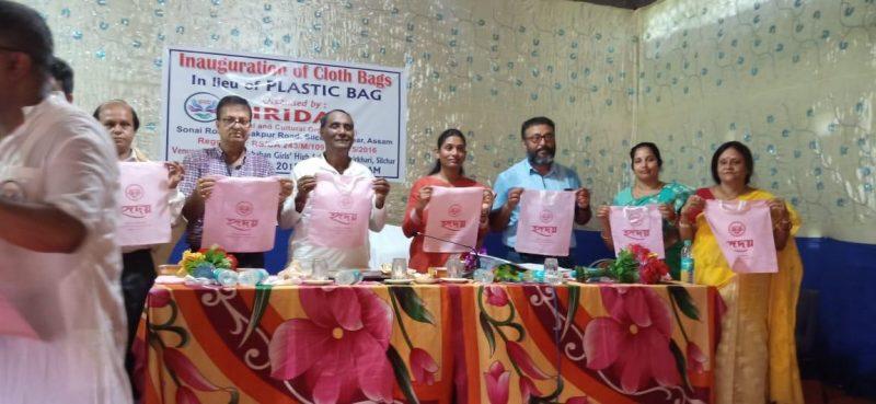 Students of Netaji Vidya Bhavan High School Advised To Avoid Use of Plastics