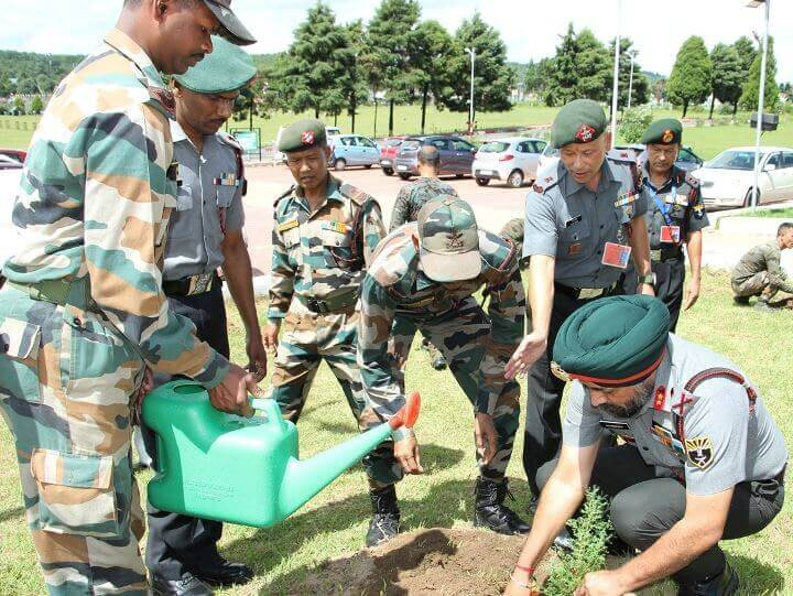 BSF, Assam Rifles Observe Jal Shakti Abhiyan in Meghalaya
