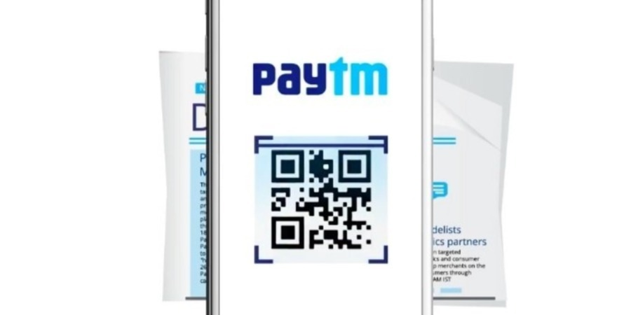 Scan any QR code to pay using Paytm