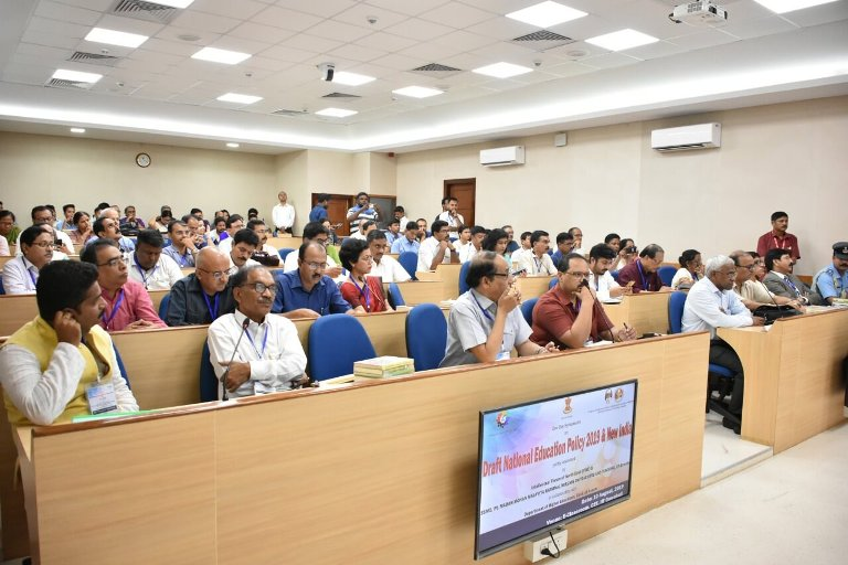 """Symposium on """"Draft National Education Policy 2019 & New"""