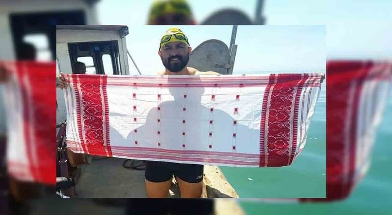 Elvis Ali Hazarika Makes Assam Proud By Becoming The First Swimmer To Cross Catalina Channel