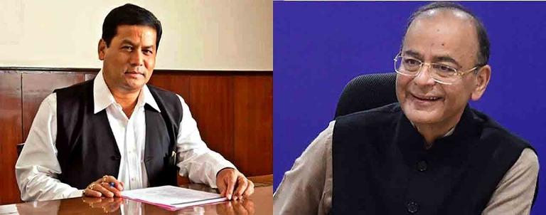 CM Sonowal condoles demise of former Union Minister Arun Jaitley