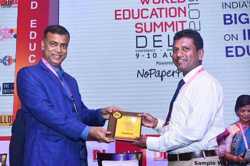 World Education Summit: Numaligarh Teachers Receive Award