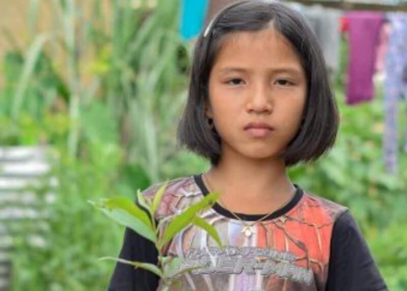 CM appoints nine-year-old girl green ambassador of Manipur who cried over trees being cut down