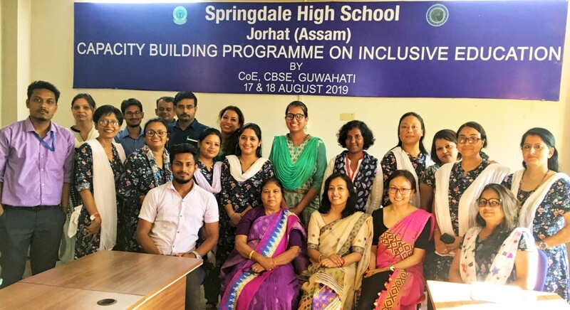 Capacity-building programme on inclusive education at Springdale High School, Jorhat