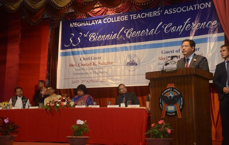 Youth is our Greatest Challenge and Resource, Says Meghalaya CM Conrad  K Sangma