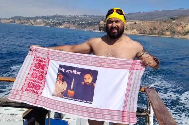 Assam Elvis Ali Hazarika Scripts History Crosses Catalina Channel