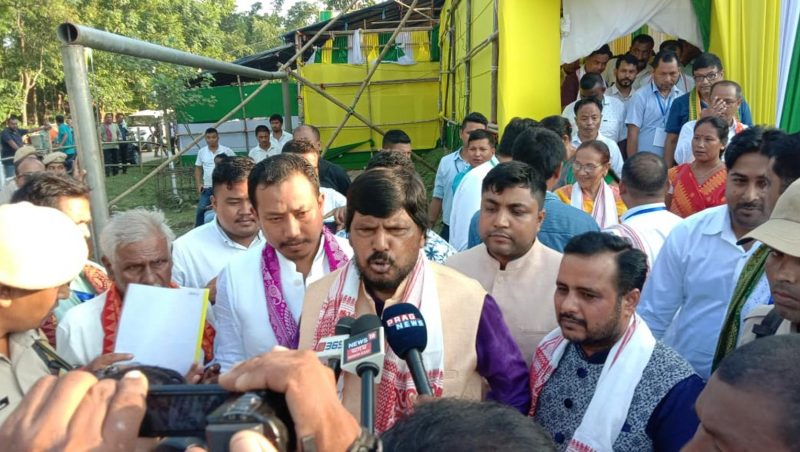 Flood And Erosion Problems of Assam Will Be Tackled, Assures Union Minister