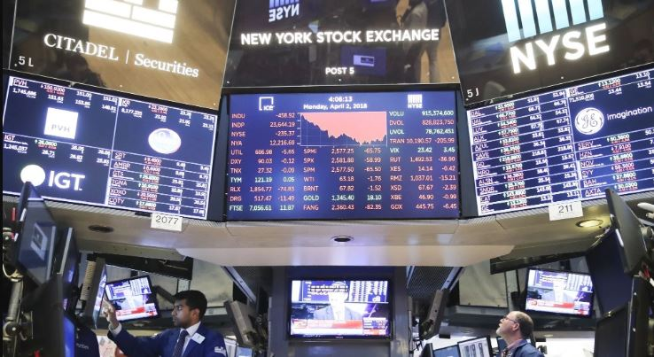 US stocks end mixed in Christmas Eve trade