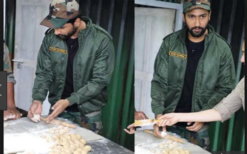 When Vicky Kaushal Made 'Rotis' for Indian Army