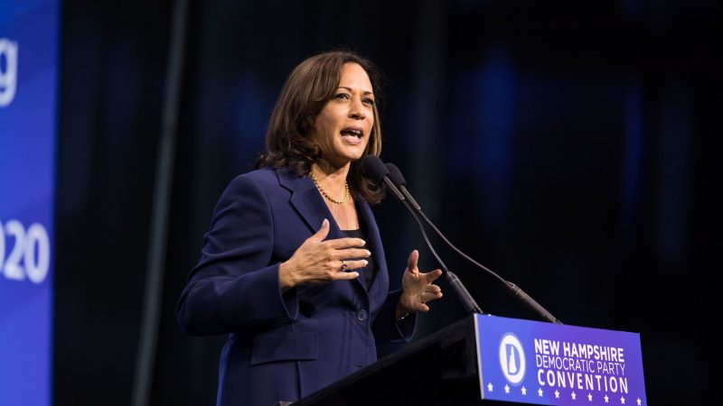 Kamala Harris Apologizes After 'Laughing' at Remark on Trump