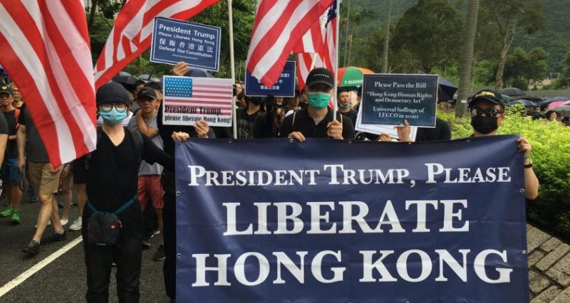 Hong Kong Protesters Appeal to Donald Trump For Help