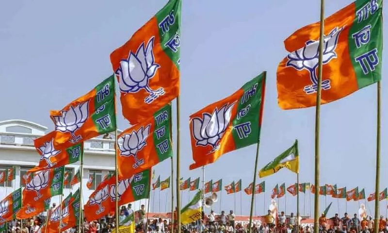 BJP-led alliance holds massive peace procession at Biswanath Chariali