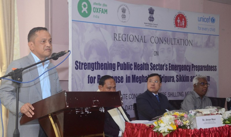 'Northeast Faces Unique Challenges In Health Sector' Says Calvin H Kharshiing