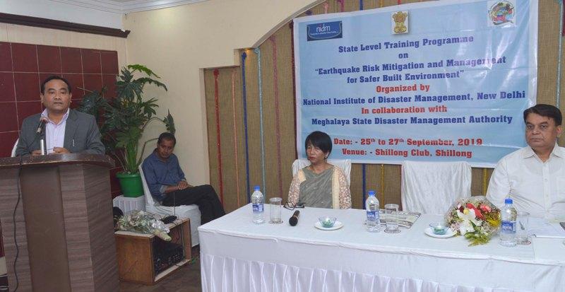 Earthquake Risk Mitigation Meet Begins in Shillong