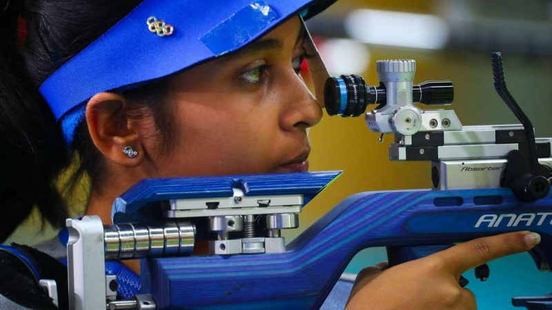 Mehuli Bags Twin Titles in 10m Air Rifle at National Trials