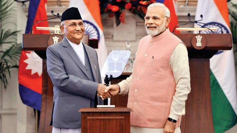 PM Narendra Modi and KP Sharma Oli Jointly Inaugurate Petroleum Products Pipeline