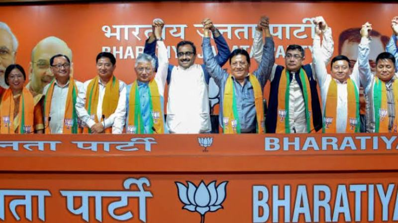 10 MLAs From SDF Join BJP, Party Becomes Main Opposition In Sikkim Assembly