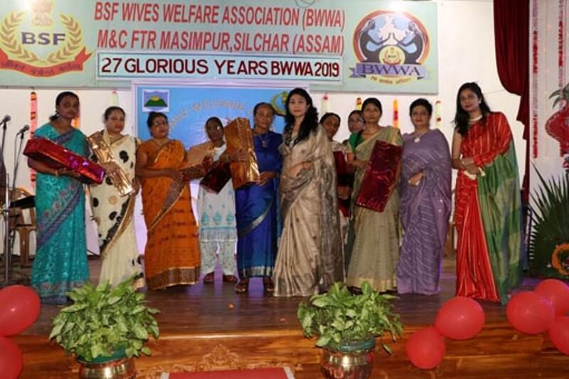 27th BSF Wives' Association Day Celebrated with Gaiety in Silchar