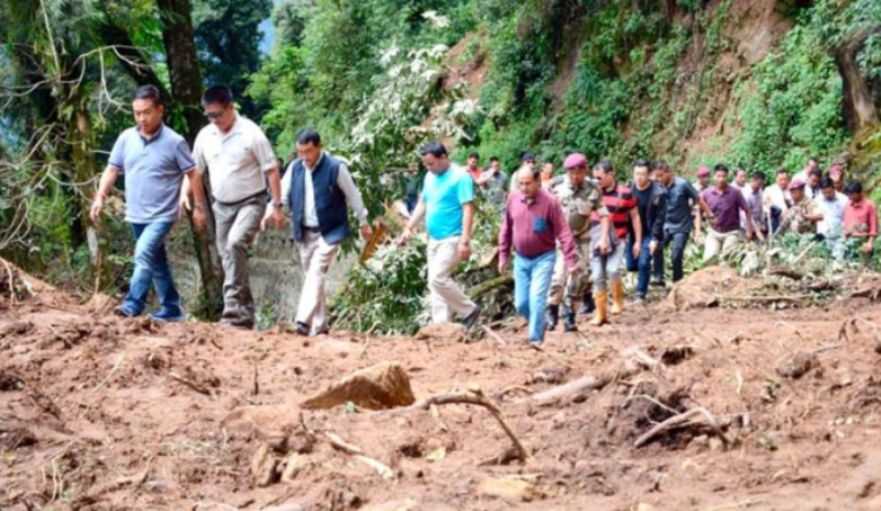 Sikkim Chief Minister P.S. Golay Assures Total Rehabilitation To Tsong Villagers