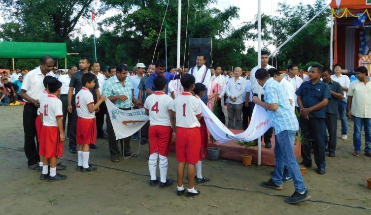 Bidhayak Cup Gramya Krira Mahotsav Kicks off in Dhakuakhana
